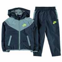 Nike Futura Waterproof Tracksuit Infant Boys Squadron Blue Детски спортни екипи