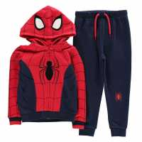 Character Jogging Set Infant Boys Spiderman Детски полар