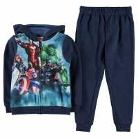 Character Tracksuit 2 Piece Set Infant Boys Avengers Детски полар