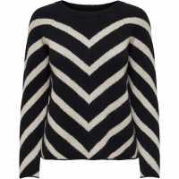 Only Eliza Ls Knit Ld21  Дамски пуловери и жилетки