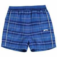 Slazenger Graphic Shorts Infant Boys Royal Детски къси панталони
