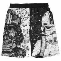 Character Плувни Шорти Момчета Board Shorts Infant Boys Star Wars Детски къси панталони