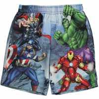 Character Плувни Шорти Момчета Board Shorts Infant Boys Avengers Детски къси панталони