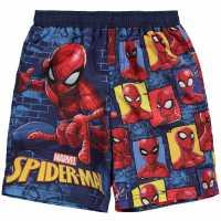 Character Плувни Шорти Момчета Board Shorts Infant Boys Spiderman Детски къси панталони
