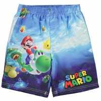 Character Плувни Шорти Момчета Board Shorts Infant Boys Nintendo Детски къси панталони
