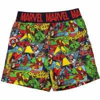 Character Плувни Шорти Момчета Board Shorts Infant Boys Avengers Плувни дрехи за момчета