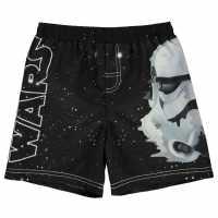 Character Плувни Шорти Момчета Board Shorts Infant Boys Star Wars Плувни дрехи за момчета