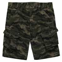 Firetrap Детски Къси Панталони Момче Camo Cargo Shorts Infant Boys  Детски къси панталони
