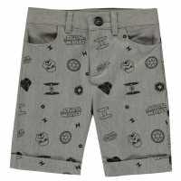 Character Къси Панталони Chino Shorts Infant Boys  Детски къси панталони