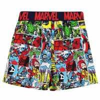 Character Плувни Шорти Момчета Board Shorts Infant Boys Avengers Детски бански и бикини
