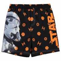 Character Плувни Шорти Момчета Board Shorts Infant Boys Star Wars Детски бански и бикини