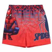 Character Плувни Шорти Момчета Board Shorts Infant Boys Spiderman Детски бански и бикини