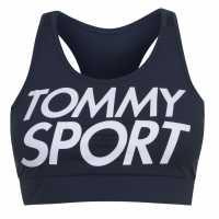 Tommy Sport Logo Sports Bra Sport Navy Спортни сутиени