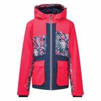 Dare2B Яке За Ски Esteem Waterproof Ski Jacket NeonPk/NeoPk Детски якета и палта