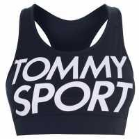 Tommy Sport Sport Logo Bra Sport Navy Спортни сутиени