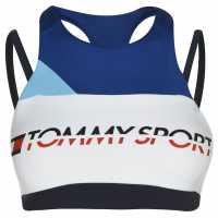 Tommy Sport Tommy Strap Mid Sports Bra Surf The Web Спортни сутиени