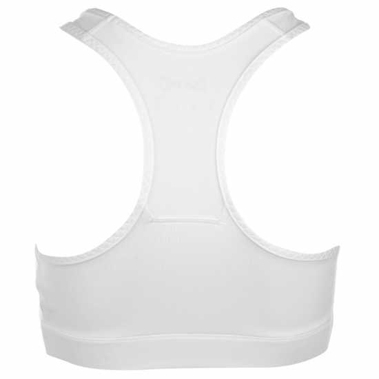 Workwear Usa Pro Poly Sports Bra White Спортни сутиени