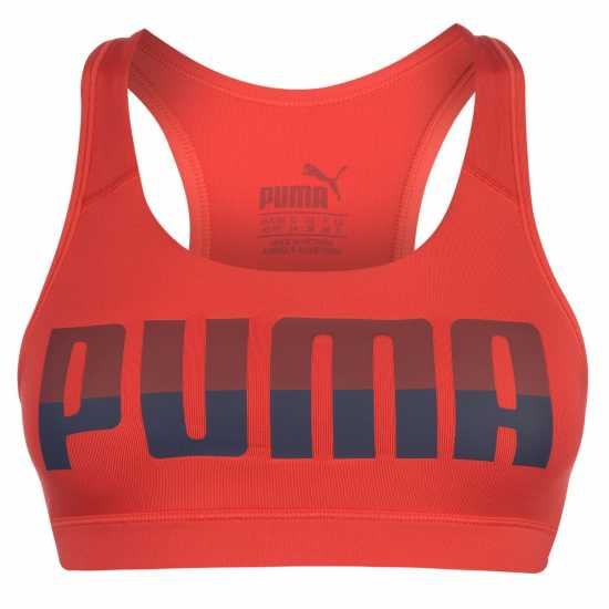 Puma Дамски Спортен Сутиен Ace 4 Keeps Sports Bra Ladies Red Спортни сутиени