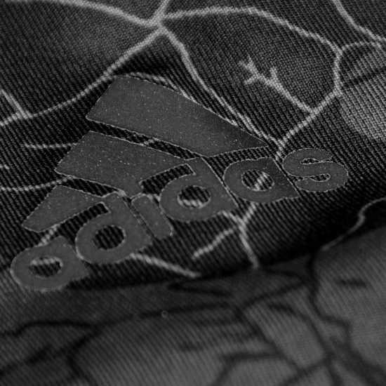 Adidas Дамски Спортен Сутиен Alphaskin Sports Bra Ladies Black/Print Спортни сутиени