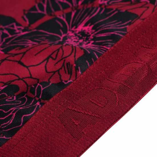 Adidas Дамски Спортен Сутиен Alphaskin Sports Bra Ladies Maroon Print Спортни сутиени