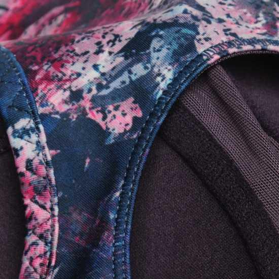 Workwear Спортен Сутиен За Средно Натоварване Usa Pro Medium Sports Bra Aztec Floral Спортни сутиени
