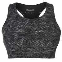 Workwear Спортен Сутиен За Средно Натоварване Usa Pro Medium Sports Bra Mono Feather Спортни сутиени