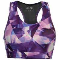 Workwear Спортен Сутиен За Средно Натоварване Usa Pro Medium Sports Bra Bright Shard Спортни сутиени