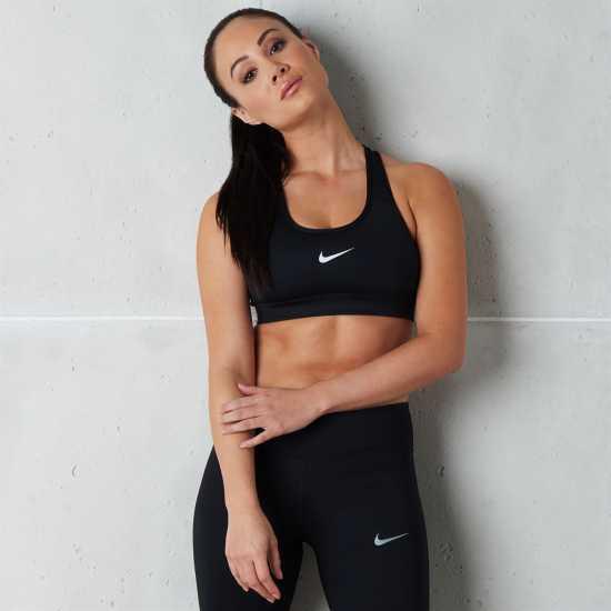 Nike Pro Ladies Bra Black Дамски долни дрехи