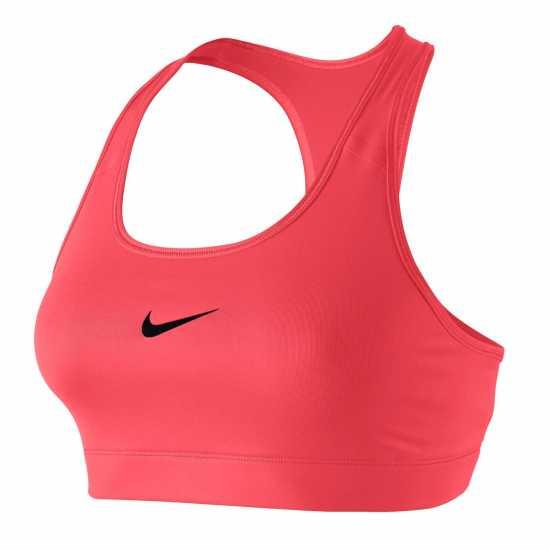 Nike Дамски Спортен Сутиен Pro Sports Bra Ladies Red Дамски долни дрехи
