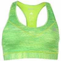 Adidas Спортен Сутиен За Усилени Тренировки Tech Fit Bra Ladies SolarSlimeHeath Спортни сутиени