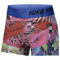 Nike Hyp Fem Short Pink/White Дамски клинове за фитнес