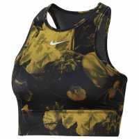 Nike Дамски Спортен Сутиен Floral Sports Bra Ladies White/Black Спортни сутиени