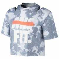 Nike Дамска Тениска Rebel Crop T Shirt Ladies  Дамски тениски и фланелки