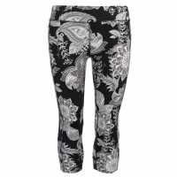 Workwear Дамски Клин Три-Четвърти Usa Pro Three Quarter Leggings Ladies Mono Oriental Дамски дрехи за бягане