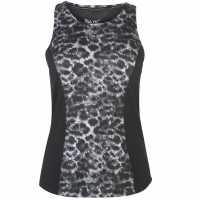 Usa Pro Дамски Потник Pro Slim Vest Ladies Black/Leopard Дамски потници
