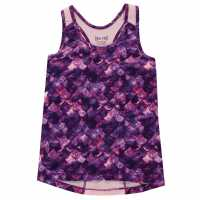 Workwear Usa Pro Fitted Vest Junior Girls Pink Mermaid Детски потници