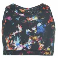 Workwear Usa Pro Fitness Crop Top Junior Girls Colour Burst Спортни сутиени