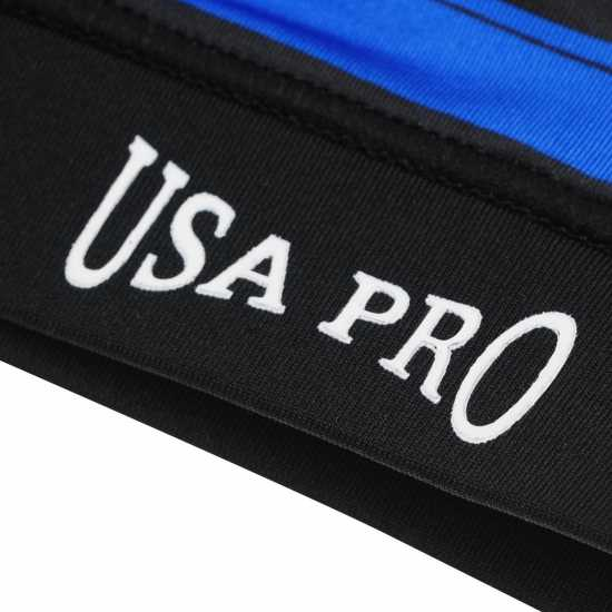 Workwear Usa Pro Fitness Crop Top Junior Girls Bright Stripes Дамски спортни сутиени