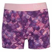 Usa Pro Къси Панталони Момичета 3 Inch Training Shorts Junior Girls Pink Mermaid Детски къси панталони