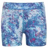 Usa Pro Къси Панталони Момичета 3 Inch Training Shorts Junior Girls Paint Splat Детски къси панталони