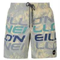 Oneill Мъжки Бермуди Stack Board Shorts Mens White Мъжки къси панталони