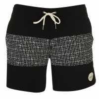 Oneill Мъжки Бермуди Cross Board Shorts Mens Black AOP Мъжки къси панталони