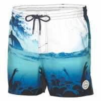 Oneill Мъжки Бермуди Photo Board Shorts Mens White AOP Мъжки къси панталони