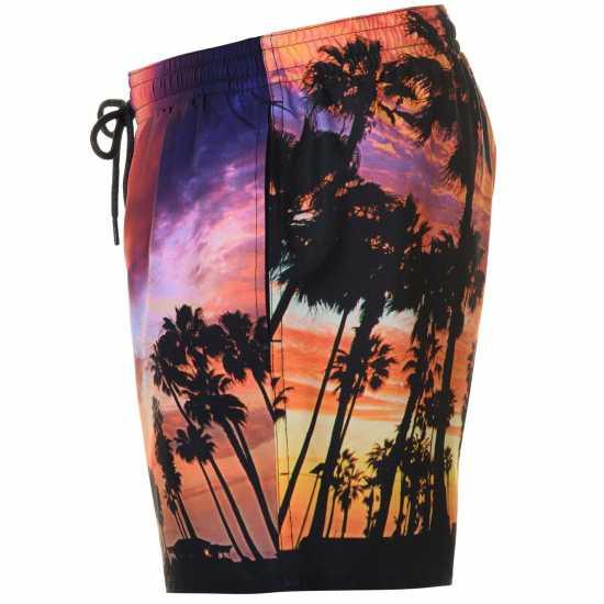 Oneill Мъжки Бермуди Photo Board Shorts Mens Red AOP Мъжки къси панталони