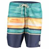 Oneill Floatr Bshort Sn73 Blue AOP/Yellow Мъжки къси панталони