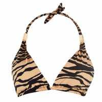 Biba Athena Bikini Top TIGER PRINT Дамски бански