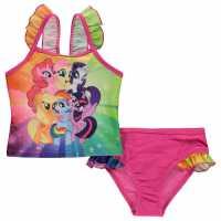 Character Екип Невръстни Момиченца Swimsuit Infant Girls My Little Pony Детски бански и бикини