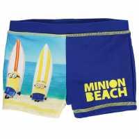 Character Swim Pants Infant Boys Minions Плувни дрехи за момчета