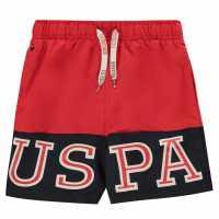 Us Polo Assn Varsity Swim Shorts  Детски бански и бикини
