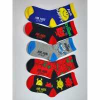 Character 5P Mmen Bbybx03  Детски чорапи
